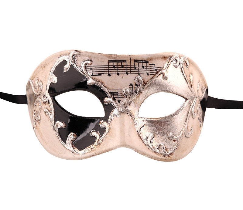 MUSICAL Vintage Design Masquerade Mask - Luxury Mask - 2