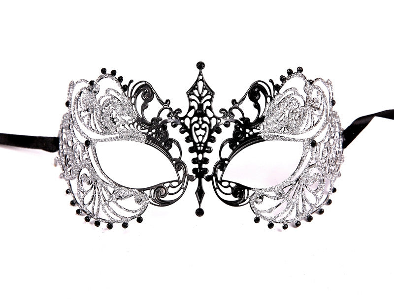 GLITTER Series Laser Cut Metal Venetian Pretty Masquerade Mask - Luxury Mask - 6