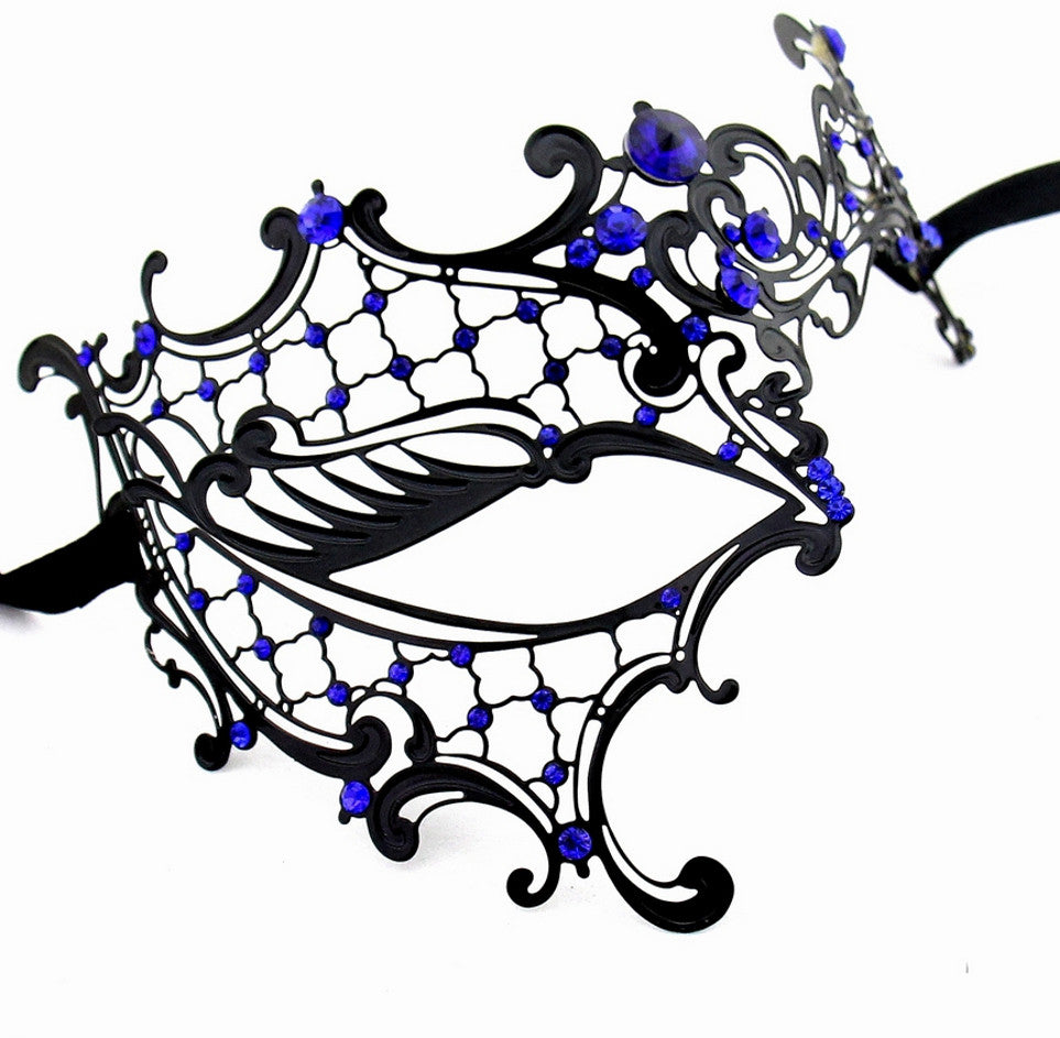 BLACK Series Signature Phantom Of The Opera Venetian Womens masquerade Mask - Luxury Mask - 5