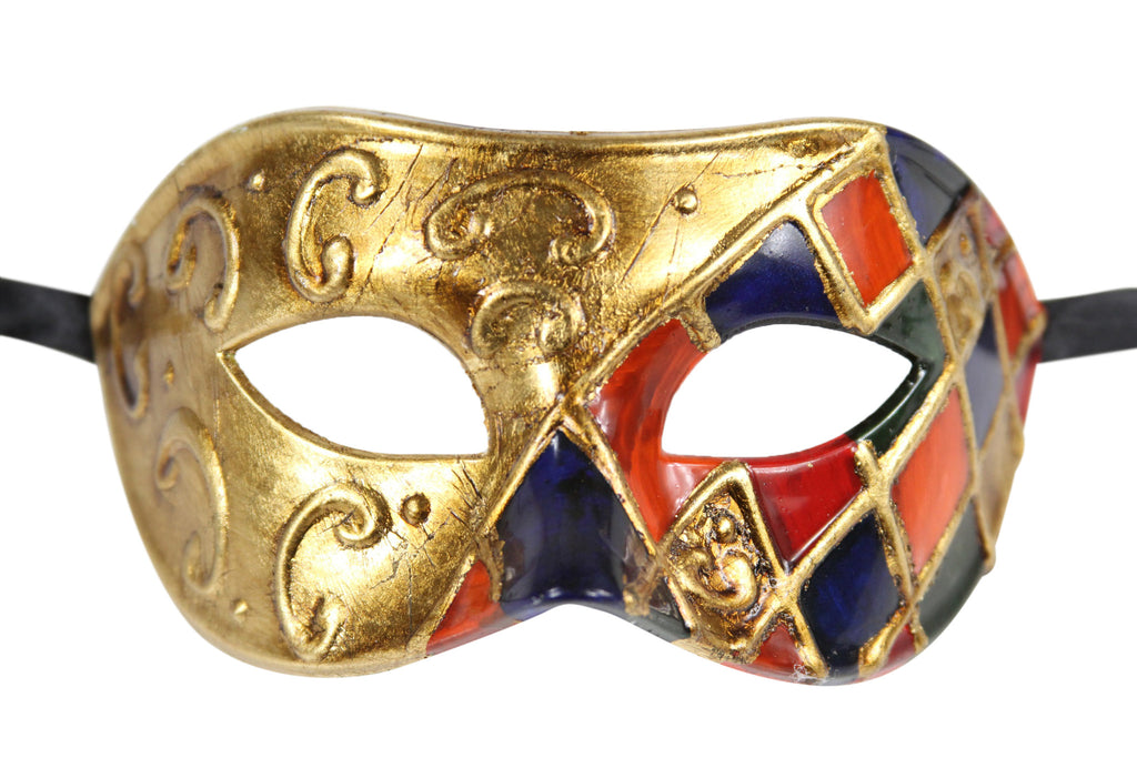Men's Vintage Design Two color Masquerade Mask - Luxury Mask - 2