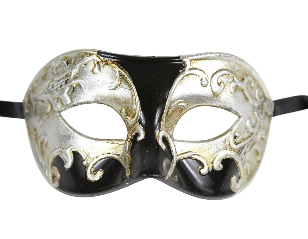 MULTI COLOR  Vintage Design Masquerade Mask - Luxury Mask - 4