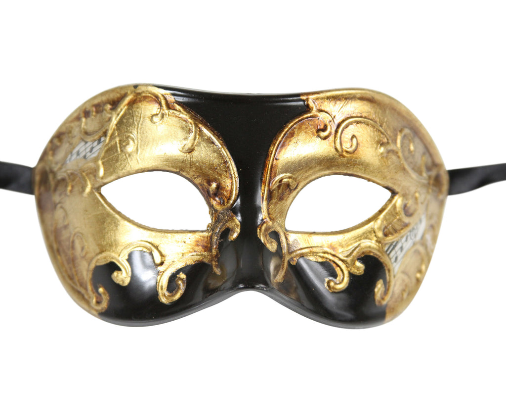 MULTI COLOR  Vintage Design Masquerade Mask - Luxury Mask - 3