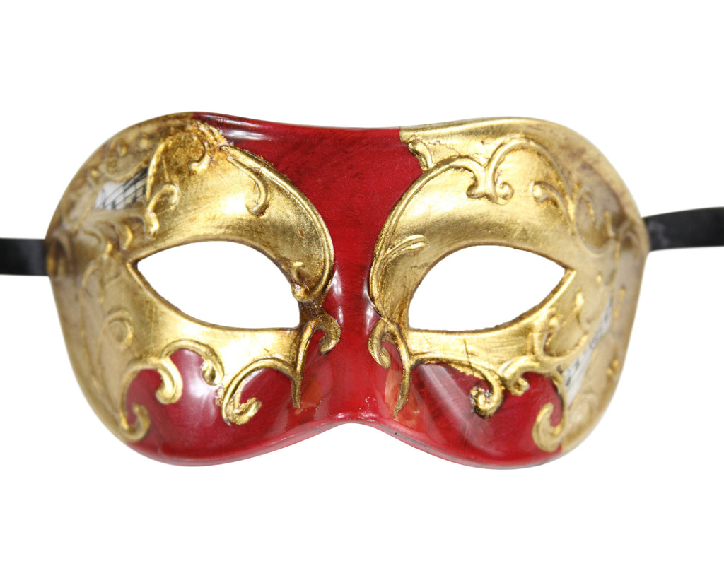 MULTI COLOR  Vintage Design Masquerade Mask - Luxury Mask - 8