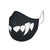 SAFEJAWZ Performance Face Mask - FANGZ. Anti-Microbial, Washable, 2-Layer Face Mask.