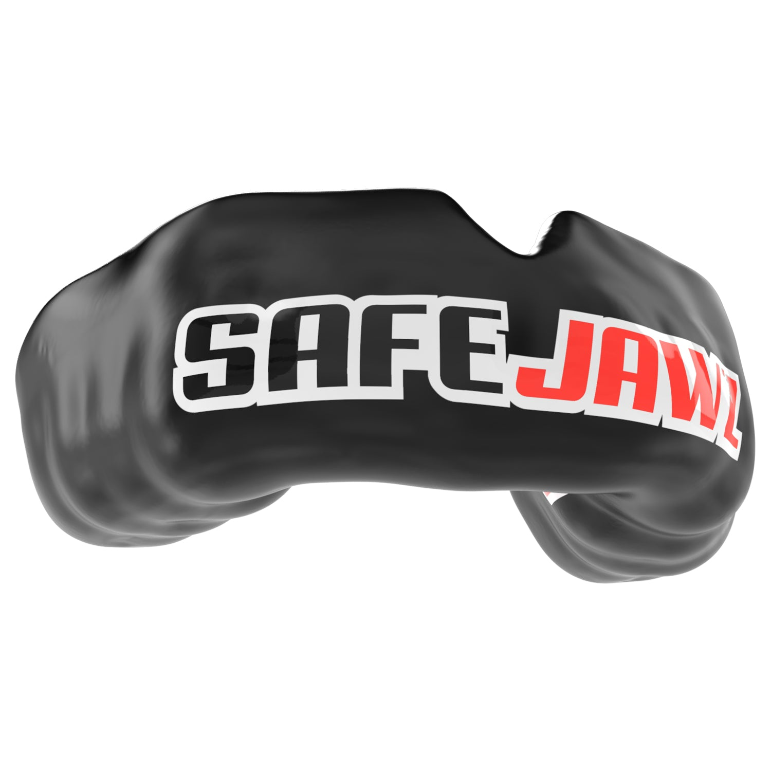 SAFEJAWZ® Popular Design Custom-fit Mouthguard - Black SAFEJAWZ®Logo - SAFEJAWZ gum shield