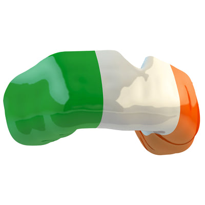 SAFEJAWZ® Popular Design Custom-fit Mouthguard - The Patrick. Ireland Flag Gum Shield. - SAFEJAWZ gum shield
