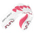 SAFEJAWZ® Extro Series Self-Fit 'Pink Fangz' Mouthguard