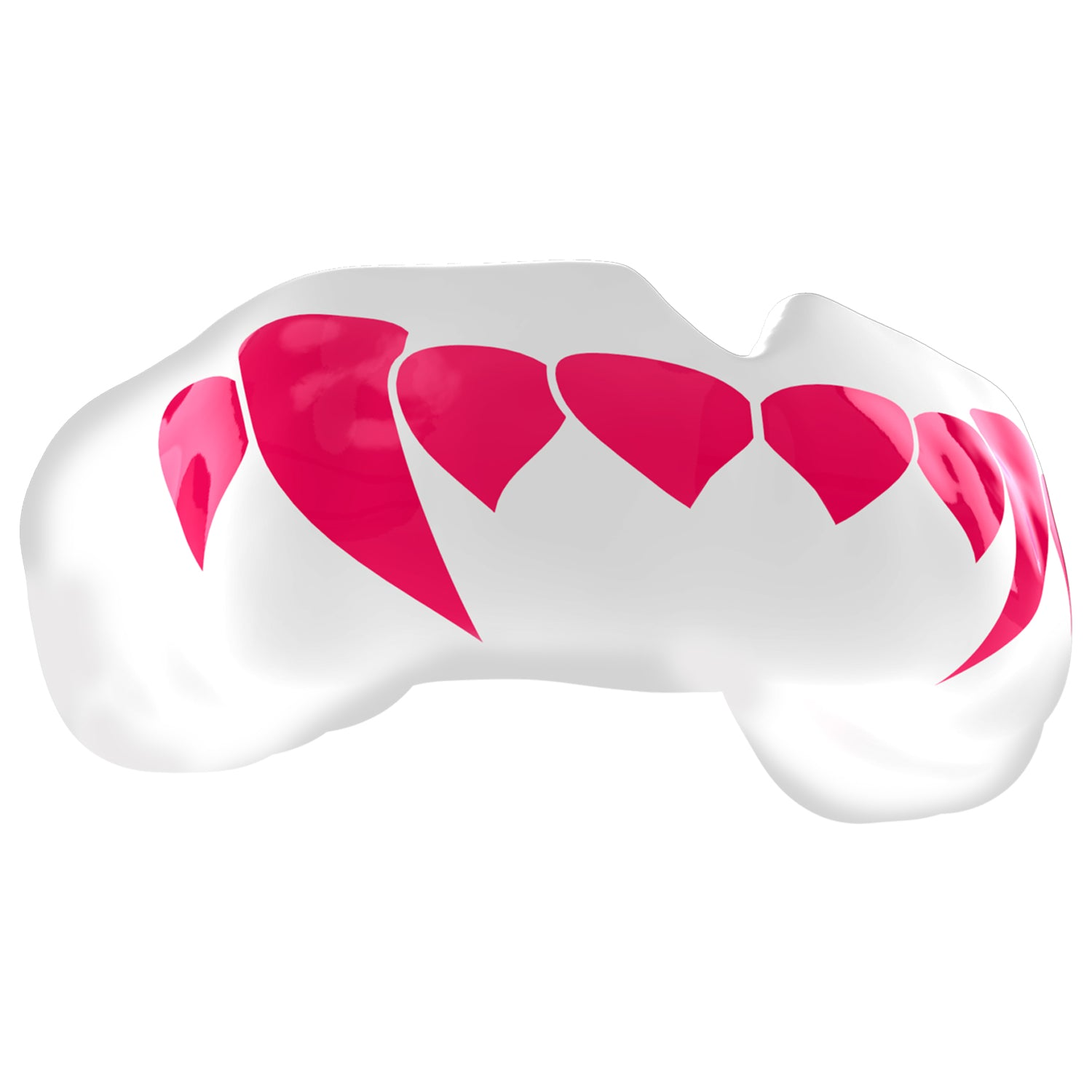SAFEJAWZ® Popular Design Custom-fit Mouthguard - Pink Fangz