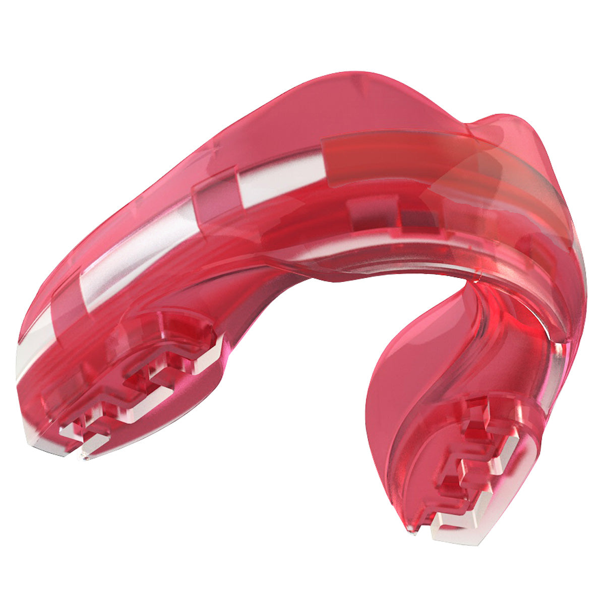 SAFEJAWZ® Ortho Series Self-Fit Mouthguard for Braces - Ice Pink - SAFEJAWZ gum shield