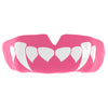SAFEJAWZ® Popular Design Custom-fit Mouthguard - Baby Pink Fangz - SAFEJAWZ gum shield