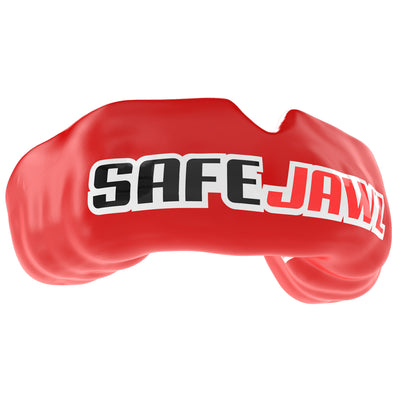SAFEJAWZ® Popular Design Custom-fit Mouthguard - Red SAFEJAWZ® - SAFEJAWZ gum shield