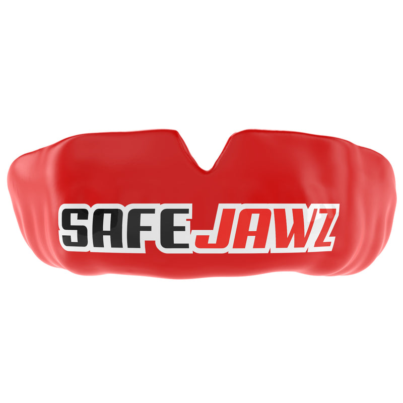 SAFEJAWZ® Popular Design Custom-fit Mouthguard - Red SAFEJAWZ®