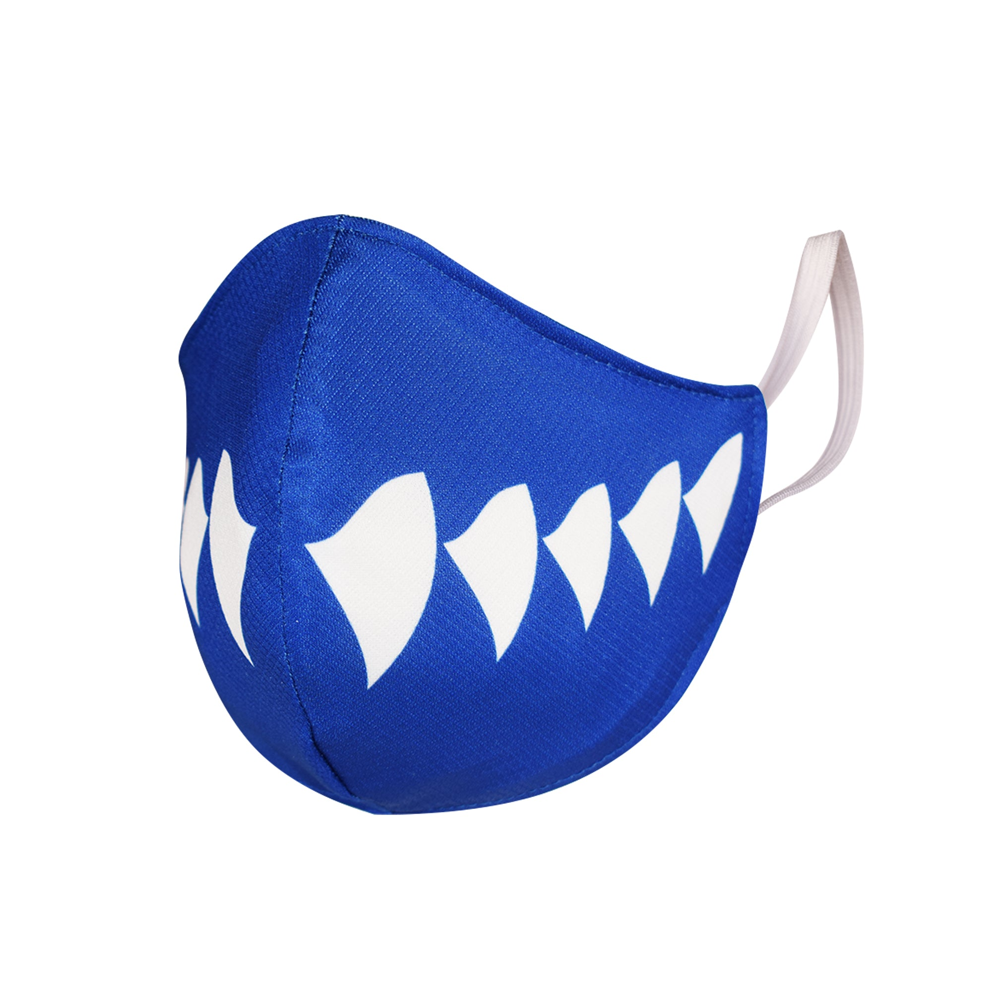 SAFEJAWZ Performance Face Mask - SHARK. Anti-Microbial, Washable, 2-Layer Face Mask.