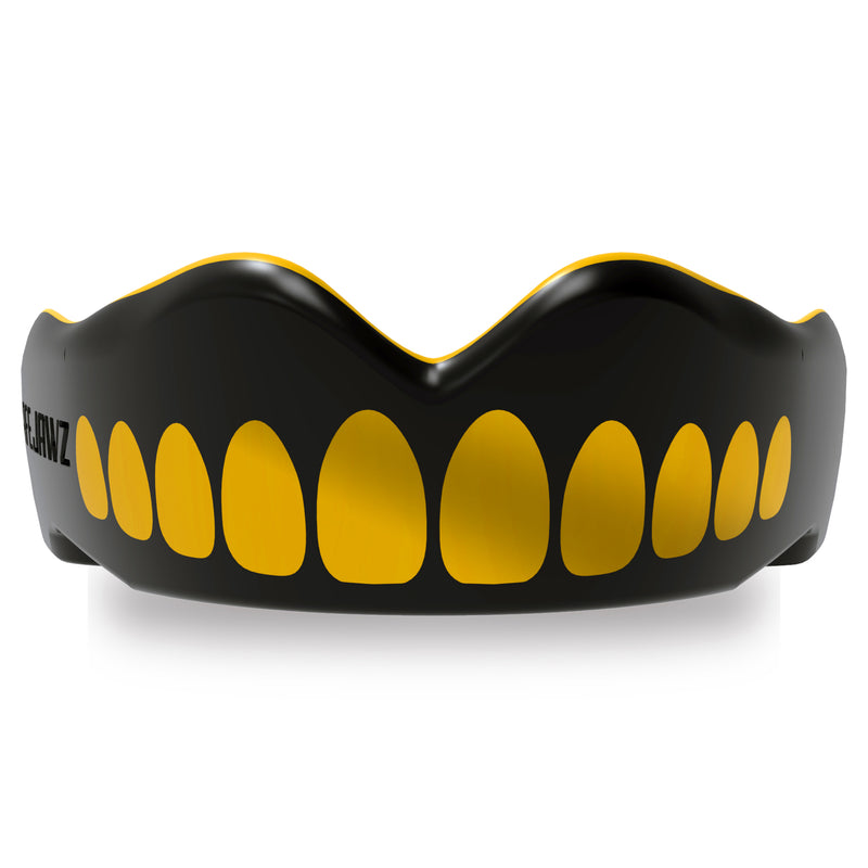SAFEJAWZ® Extro Series Self-Fit Goldie Mouthguard.