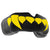 SAFEJAWZ® Popular Design Custom-fit Mouthguard - Black/Yellow Fangz