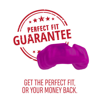 SAFEJAWZ® Custom-fit Mouthguard - Purple - SAFEJAWZ gum shield