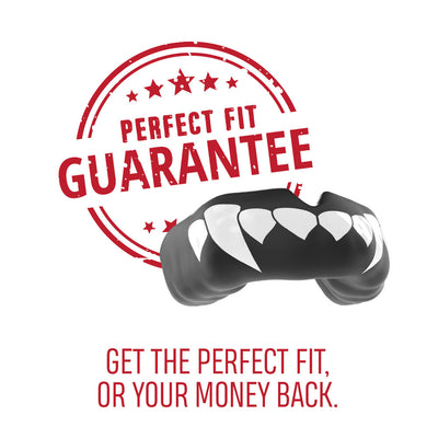 SAFEJAWZ® Popular Design Custom-fit Mouthguard - Fangz - SAFEJAWZ gum shield