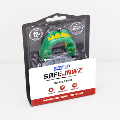 SAFEJAWZ® Extro Series Self-Fit 'Ogre' Mouthguard - SAFEJAWZ gum shield