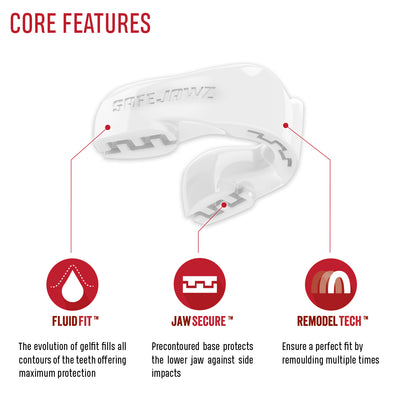SAFEJAWZ® Intro Series - White - SAFEJAWZ gum shield