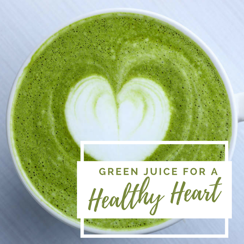 Green Juice For A Healthy Heart