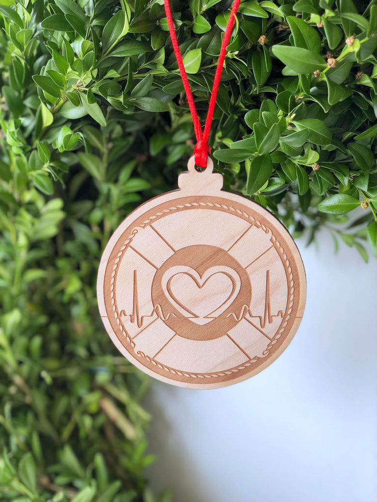 Save the Heartbeat Ornament