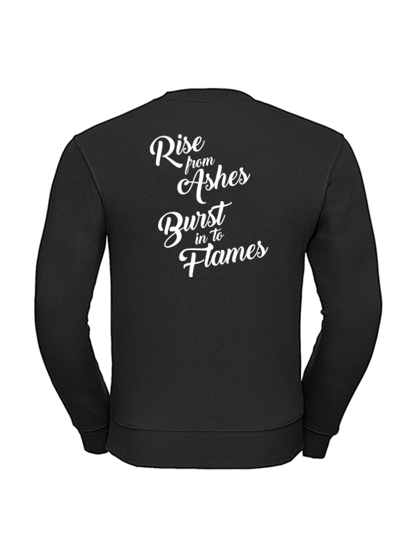 Crossfit Blue Fenix - Rise From Ashes - Sweater (Unisex)