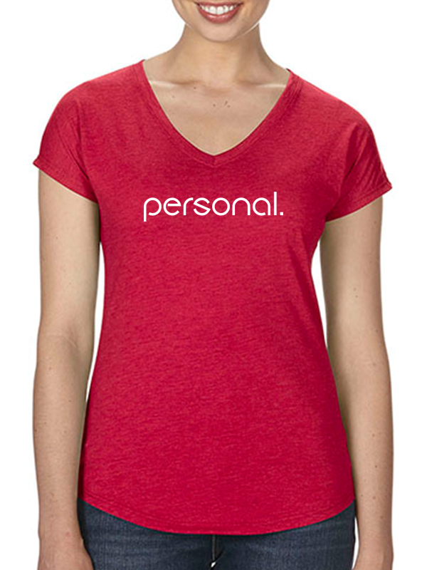 Personal V-Neck Tee Woman
