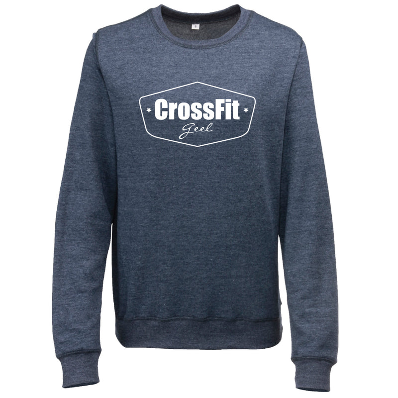 Crossfit Geel Sweatshirt Woman