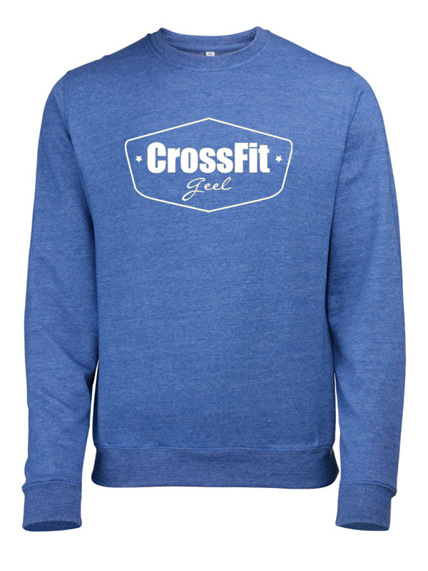 Crossfit Geel Sweatshirt Men V2 Royal Blue