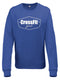 Crossfit Geel Sweatshirt Woman V2 Royal Blue