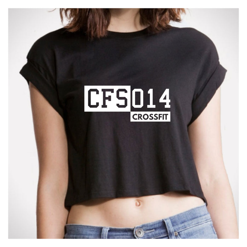 Crossfit Schoten - Crop Top