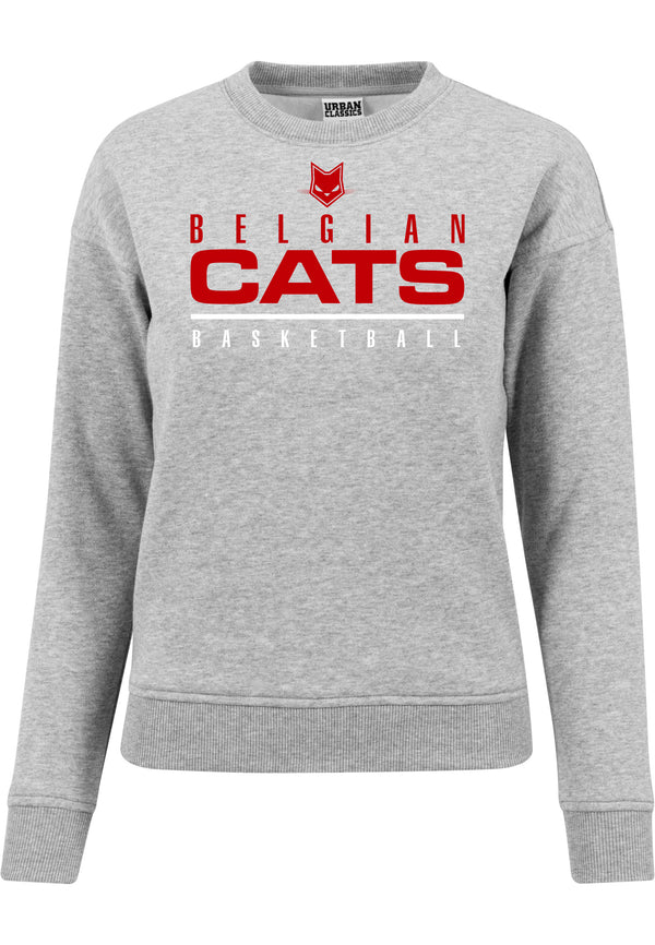 Cats Sweater Urban Classic Grey