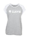 Cats Ladies Contrast Raglan T