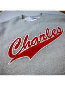 Charles Original sweater baseball look