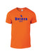 Charles TriBlend Heather Orange T-shirt