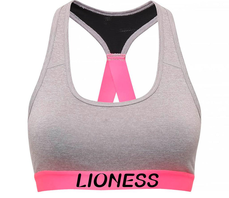 Lioness - Performance Sports Bra - Silver Melange