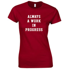 Elite Athletes - Always Work Shirt Woman