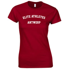 Elite Athletes - Antwerp Round Shirt Woman