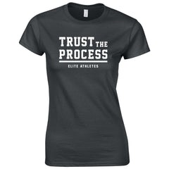 Elite Athletes - Trust Fitted T-shirt Woman