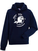 EAGLES Hoodie Adult Navy Blue