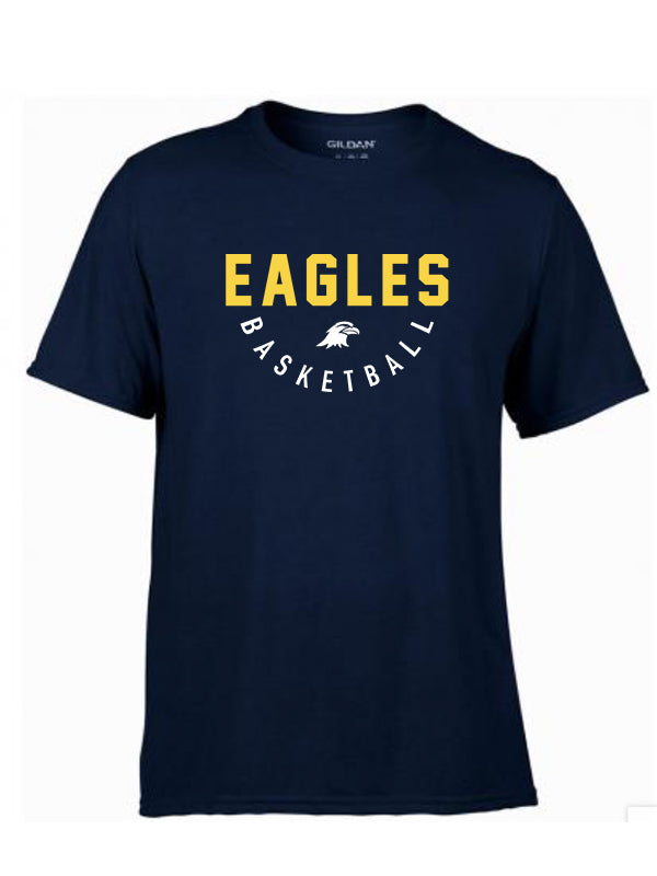 EAGLES T-shirt Heren Navy Blue