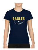 EAGLES T-shirt Dames Navy Blue
