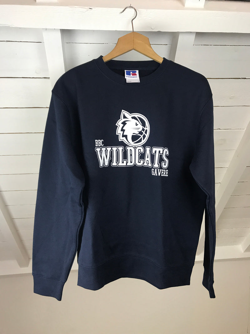 Wildcats Full Navy Sweatshirt - Unisex OUTLET