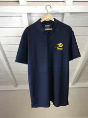 Condors Coach Navy Polo - Men OUTLET