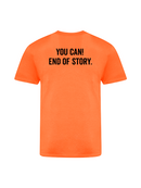 Crossfit Mechelen - Basic - You Can! End Of Story. - T-shirt (M/F)