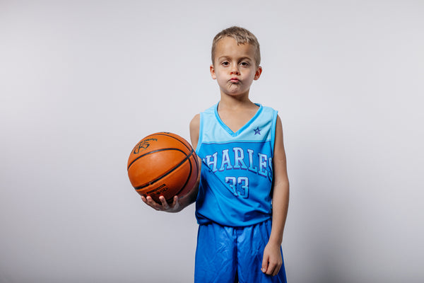 Charles for kids Basketball JERSEY
