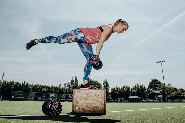 Lioness performance flower leggings full