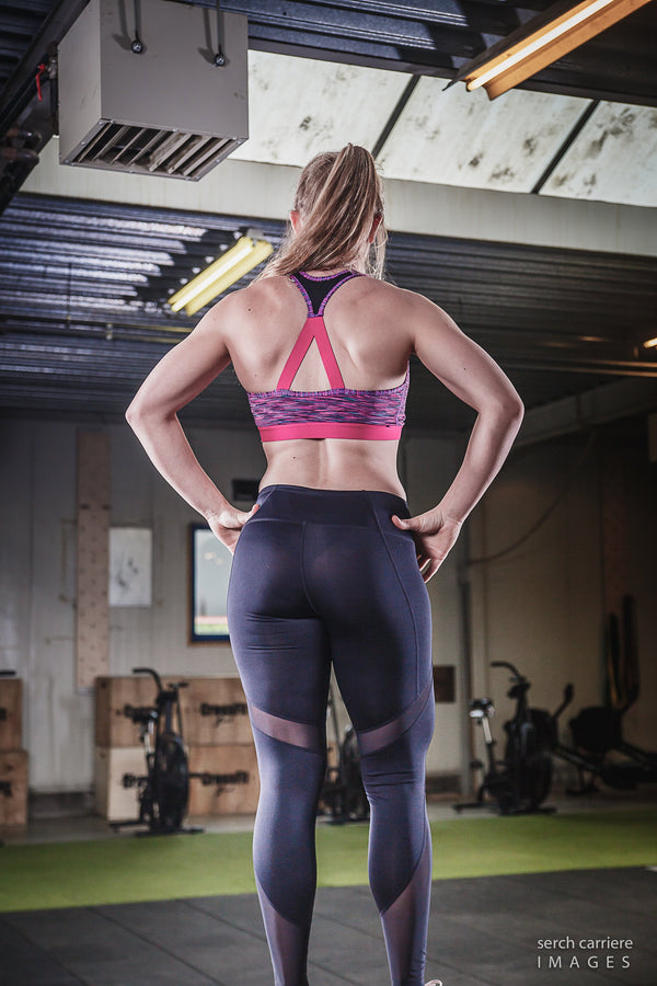 Crossfit Mol - Legging mesh tech panel