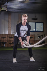 Crossfit Geel Baseball shirt