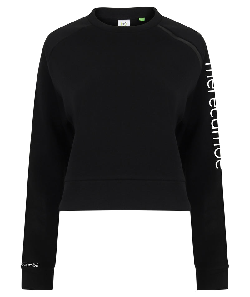 Merecumbé Women Cropped Sweatshirt